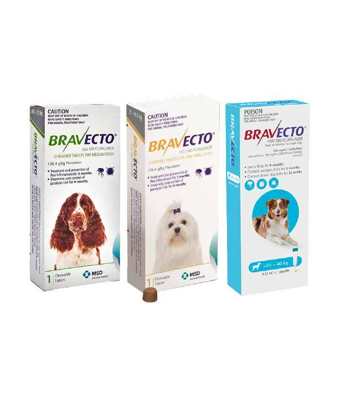 Flea Tick Worm Treatment for dogs
