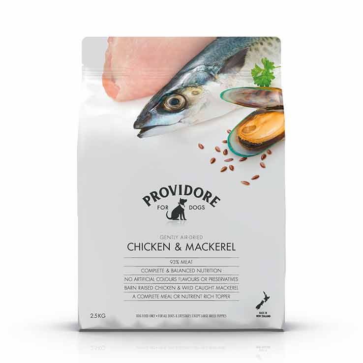 Providore Chicken and Mackerel
