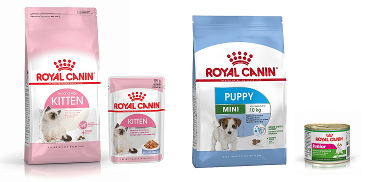 Royal Canin Puppy Kitten Food